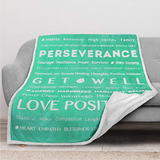 Positive Energy Healing Blanket-Gift for People You Love