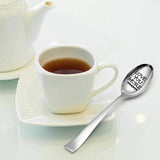 Love you more Engraved spoon