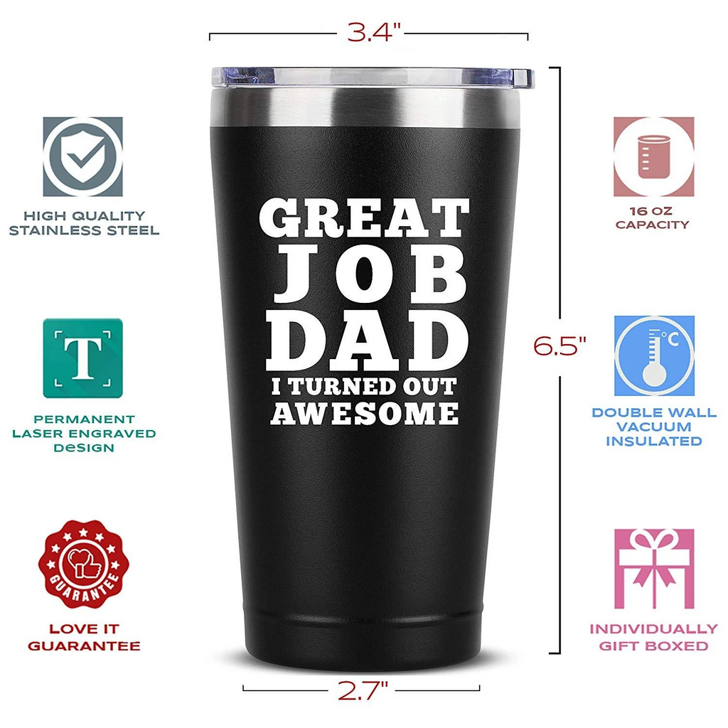 Great Job Dad Stainless Steel Tumbler