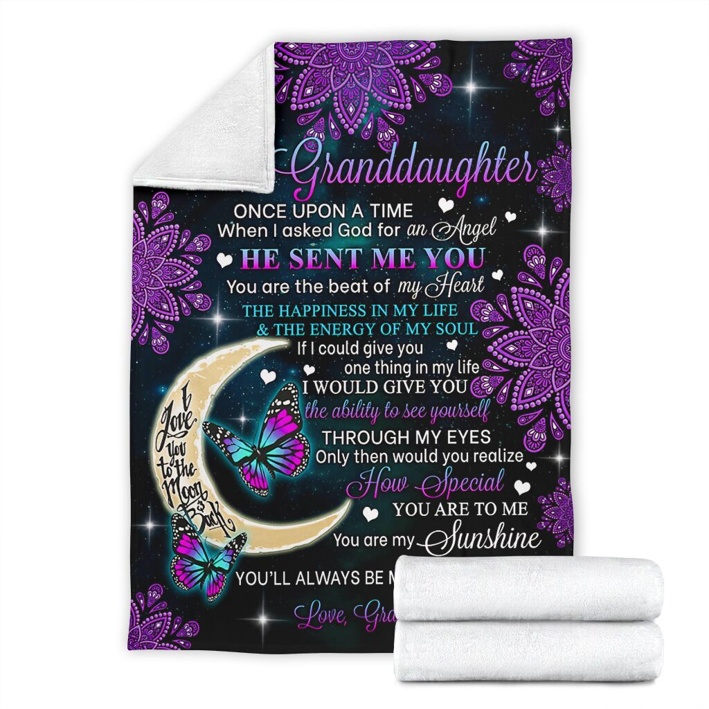 'TO MY GRANDDAUGHTER' LOVE BLANKET