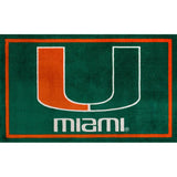 University of Miami Logo Area Rug/Doormat