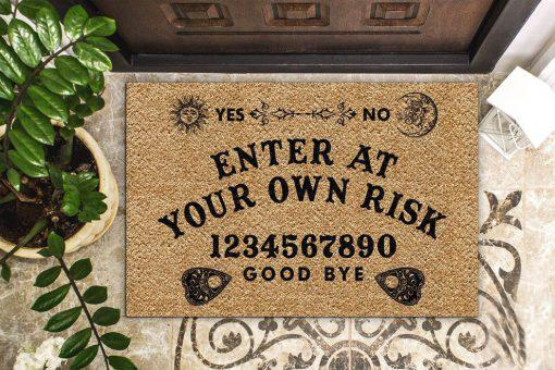 Ouija Board Witch Doormat