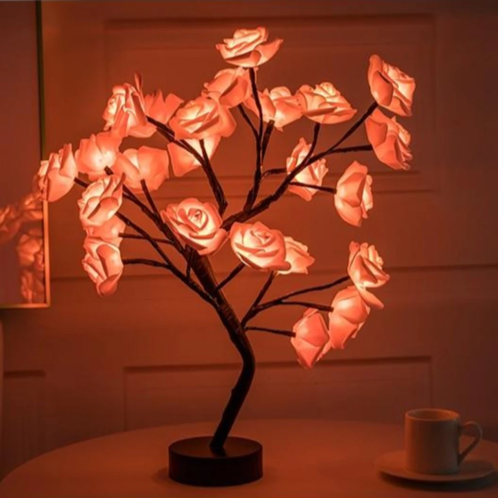 THE ROSE TREE LAMP