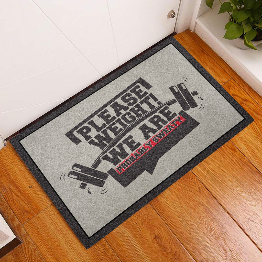 We Are Probably Sweaty Gym Doormat