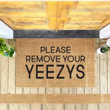 Forget About Being Unhappy,Remove Your YEEZYS