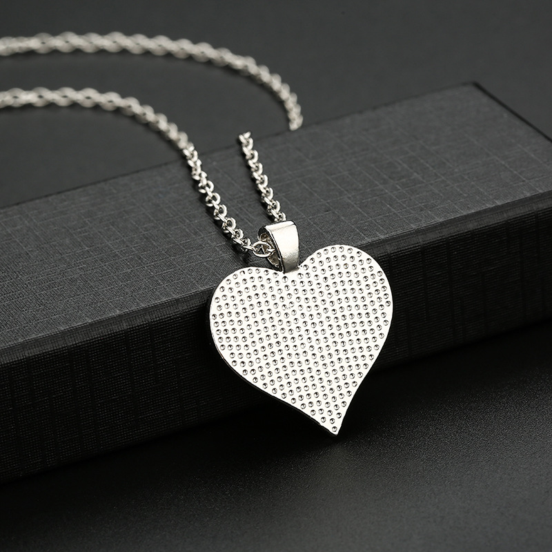Heart Shape Necklace, Mom to Daughter