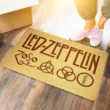 Led Zeppelin Door Mat