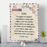 MOM&DAD - WE LOVE YOU BLANKET
