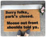 Funny Rude Geek Doormat