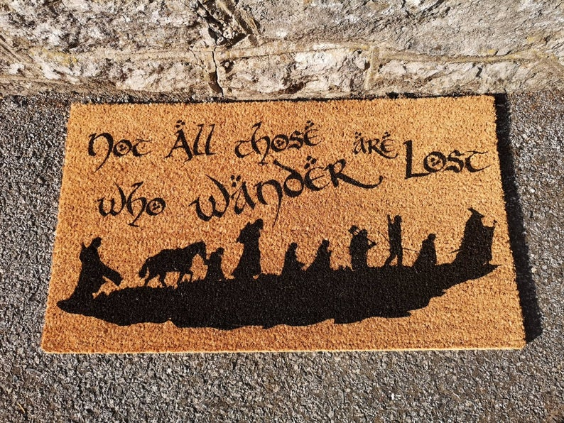 Lord of the Rings Doormat