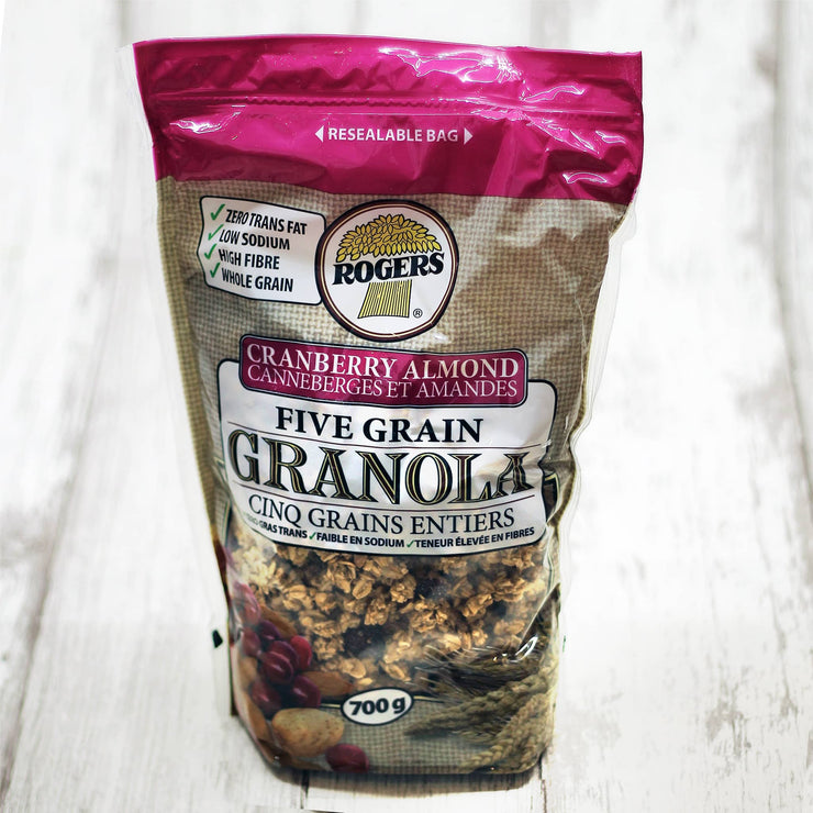 Rogers Cranberry Almond granola - Geary Market Pantry Toronto