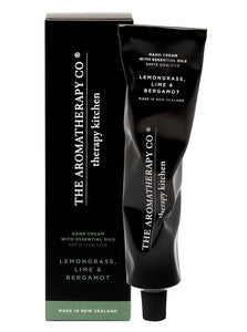 Therapy Kitchen Hand Cream - Lemongrass, Lime and Bergamot