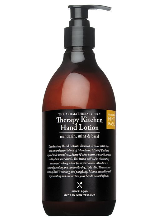 Therapy Kitchen Hand Lotion - Mandarin, Mint and Basil