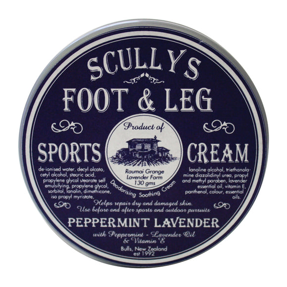 Scully's Lavender Sports Foot & Leg Cream