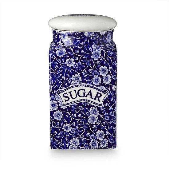 Calico Sugar Jar
