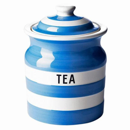 Cornish Blue Tea Storage Jar