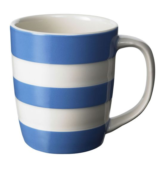 Cornishware Mug Blue 12oz.