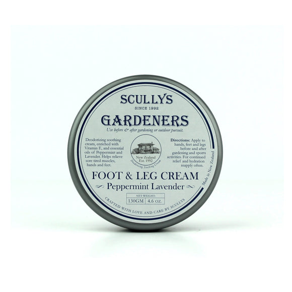 Scully's Gardeners Peppermint Lavender Foot and Leg Cream