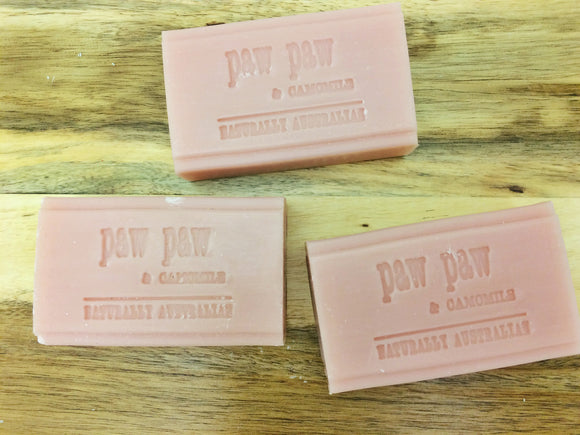 Superfoods Botanical Soap- Paw Paw & Chamomile