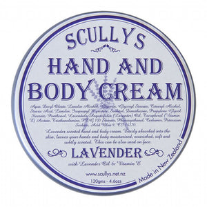 Scully's Lavender Hand & Body Cream