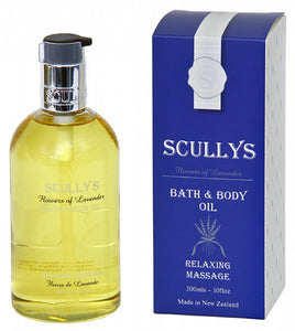 Scully's Lavender Bath & Body Oil
