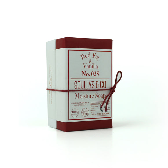 Scully's Red Fig and Vanilla Twin Soap