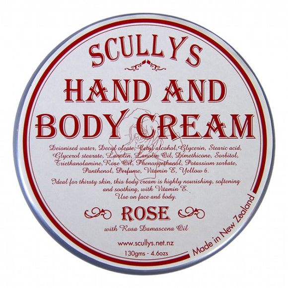 Scully's Rose Body Cream