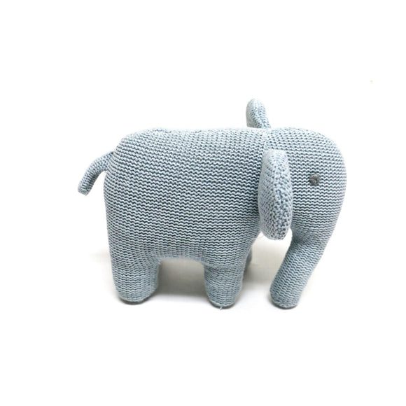 Knitted Elephant Rattle