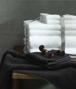 Dune Towel Set - Charcoal