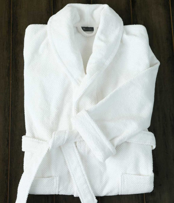 Finn Bathrobe White - Small