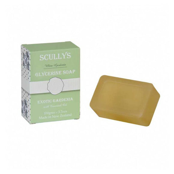 Scully's White Gardenia Glycerine Soap