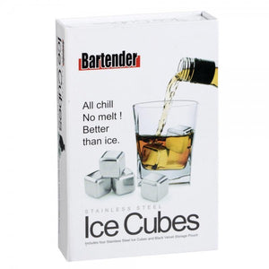 Bartender Stainless Steel Ice Cubes