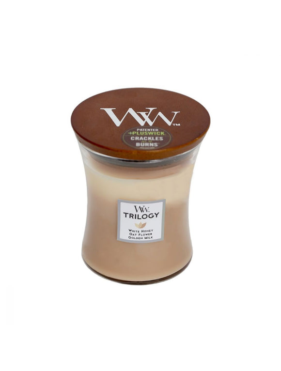 Woodwick Golden Treats Trilogy