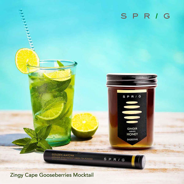 Zingy Cape Gooseberries Mocktail