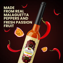 Load image into Gallery viewer, Passion Fruit Malagueta Pepper Hot and Sweet Sauce, 120 g