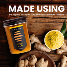 Load image into Gallery viewer, Curcumin Imbued Honey, 325 g