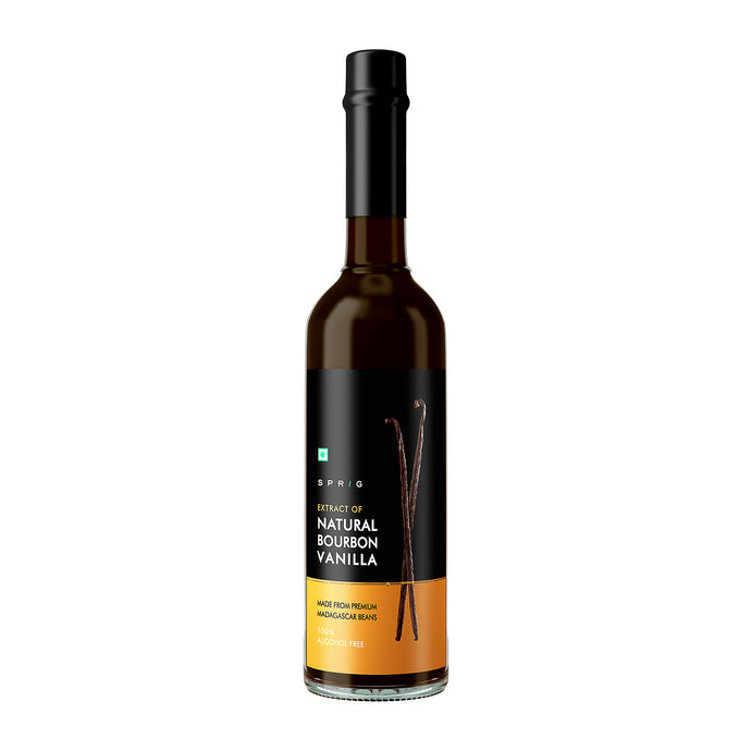 Extract of Natural Bourbon Vanilla beans from Madagascar, 50 ml