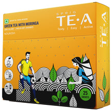 Load image into Gallery viewer, TE.A Green Tea with Moringa - Pack of 25, 12.5 g