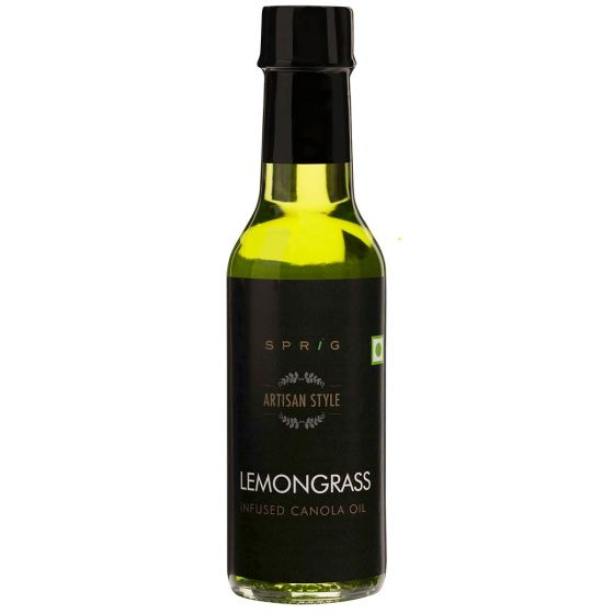 Lemongrass Infused Canola Oil, 125gm