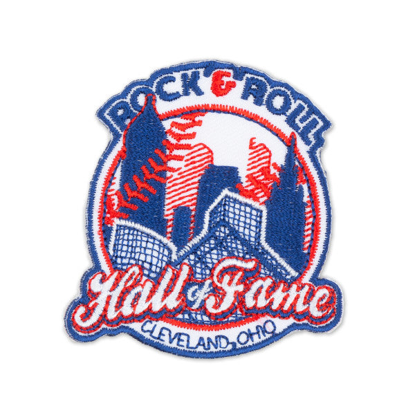 ROCK HALL BASEBALL SKYLINE PATCH