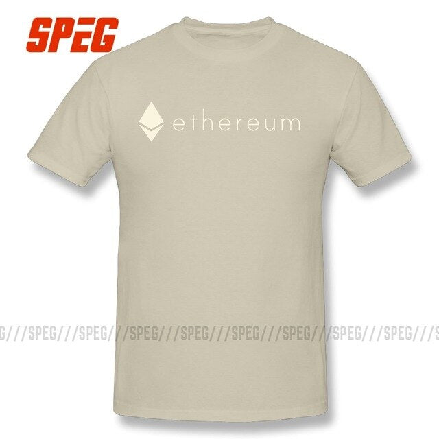 ETHEREUM Cryptocurrency Men's Short Sleeve