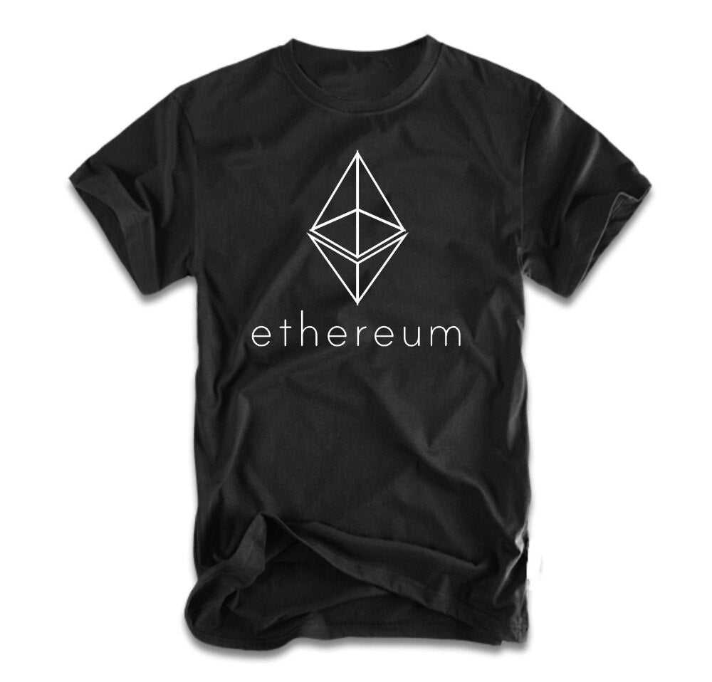 New Short Sleeve Casual Ethereum ETH T-Shirt