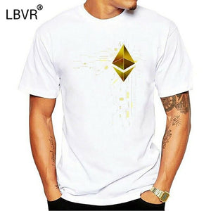 Ethereum Gold Eth Heart T-Shirt