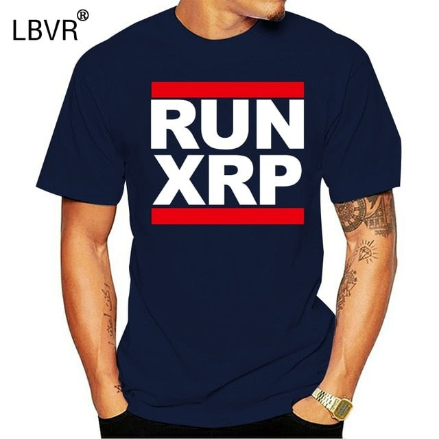Run Dmc Parody T-Shirt Ripple CryptoCurrency