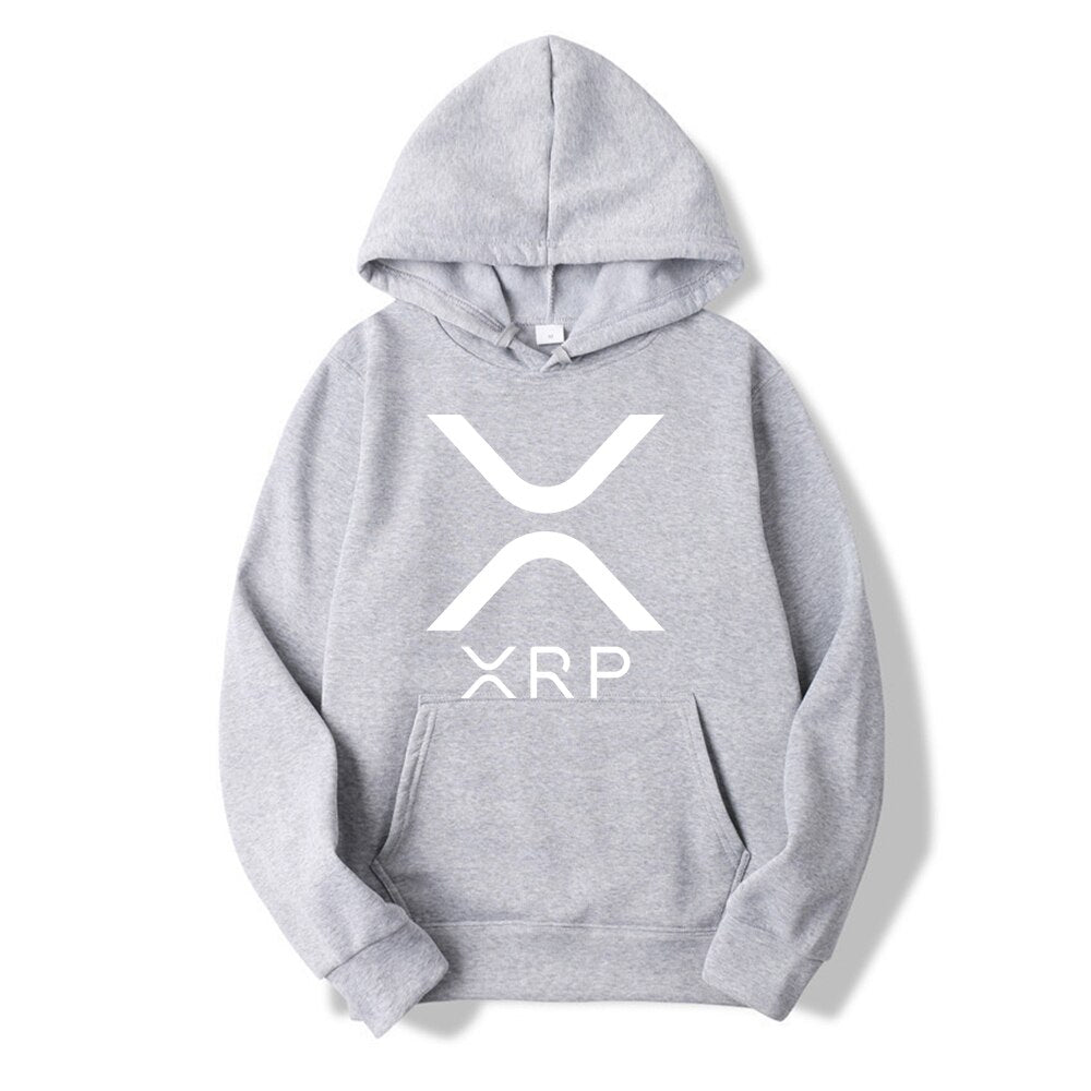 XRP Crypto Cool Merch Lightweight Unisex Sweatshirt