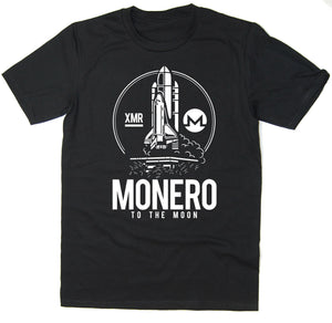 Monero To The Moon T-Shirt