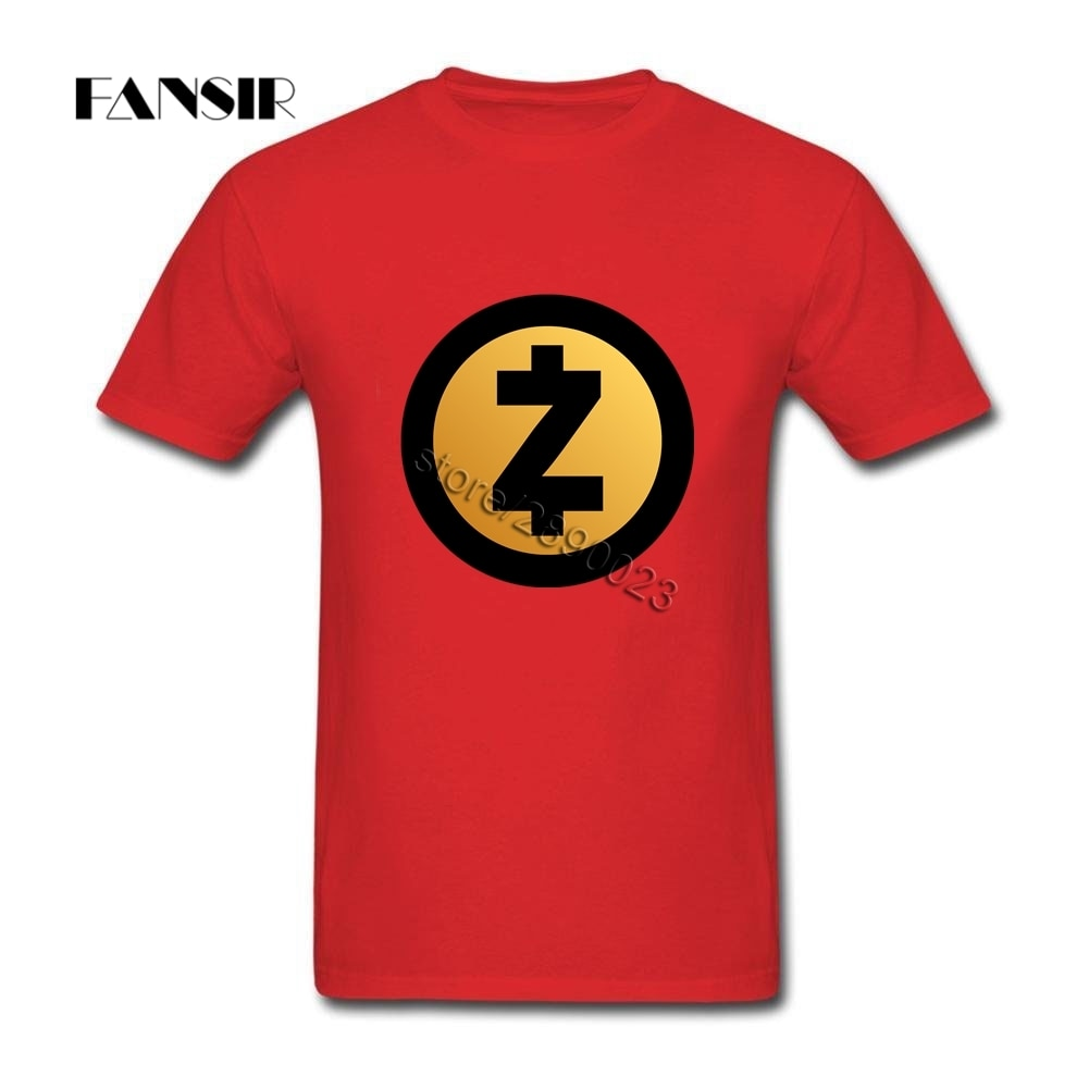 Zcash Team Brand Clothing Men T-Shirt