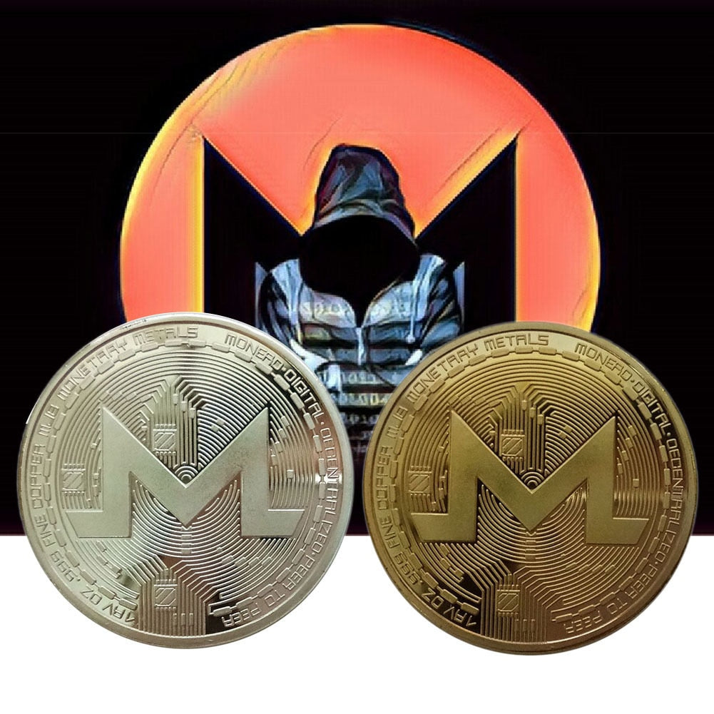 XMR Monero Coins Commemorative Coins For Collection