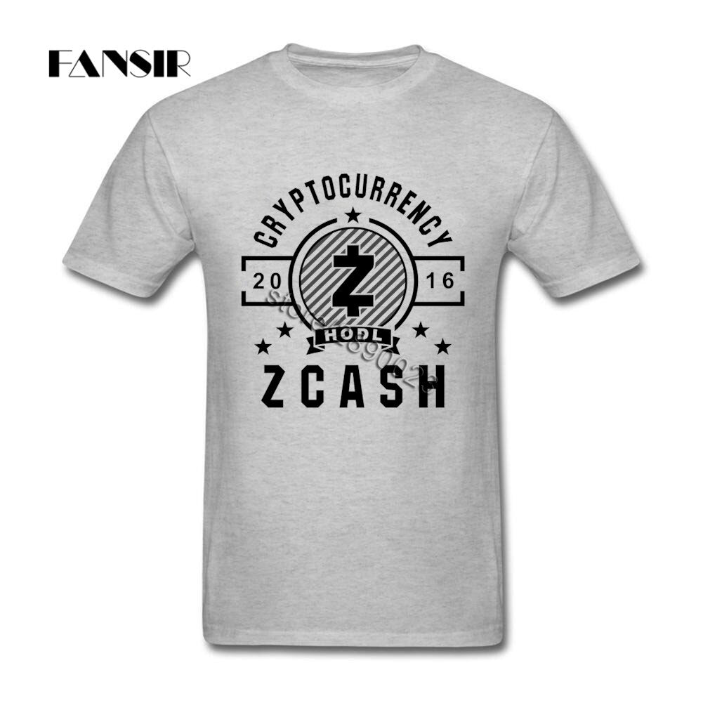 Zcash T-Shirt Men Short Sleeve
