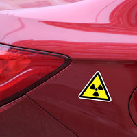 Radiation sign (car sticker)